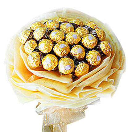 Rocher Delight Bouquet:Send Friendship Day Gifts to Malaysia
