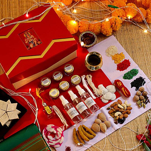 Gudi Padwa Pooja Box:Send Pooja Samagri Boxes to Malaysia