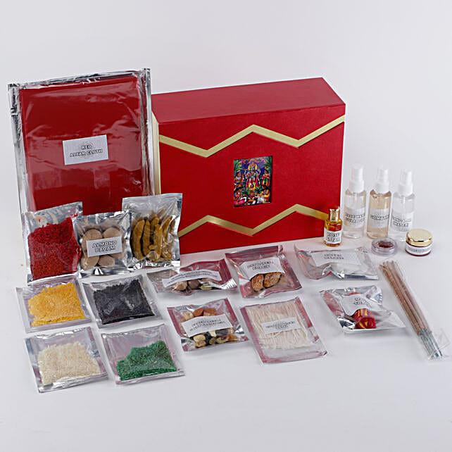 Satyanarayan Pooja Box:Send Pooja Samagri Boxes to Malaysia