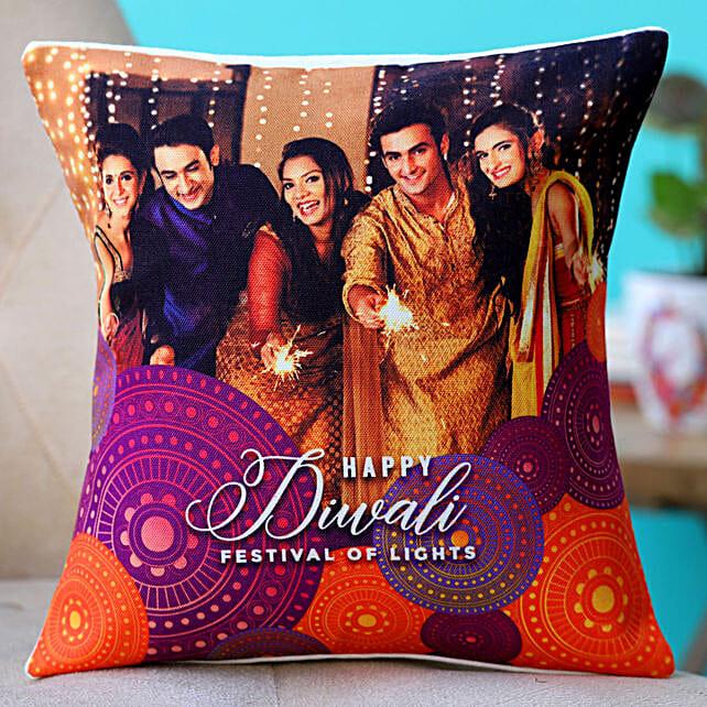online printed photo cushion for diwali:Diwali Gifts Malaysia