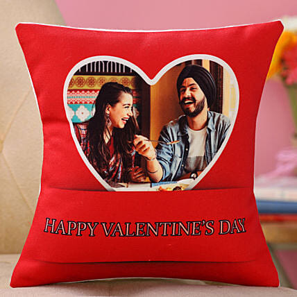 personalised valentine day cushion online:Send Cushion to Malaysia