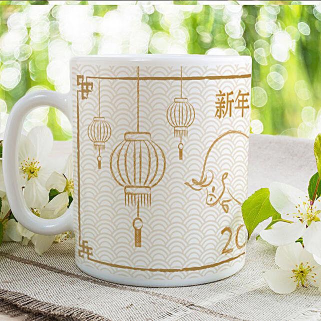 Year Of Ox Printed Mug