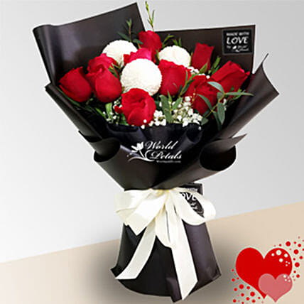 Passion Rose Bunch