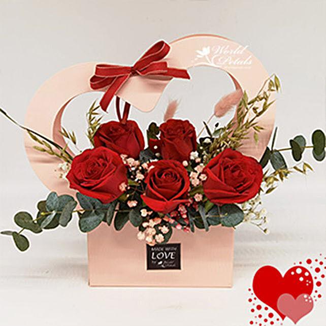 Red Love Floral Arrangement