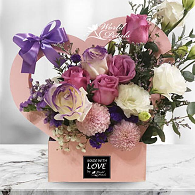 Love Expression Flower Arrangement