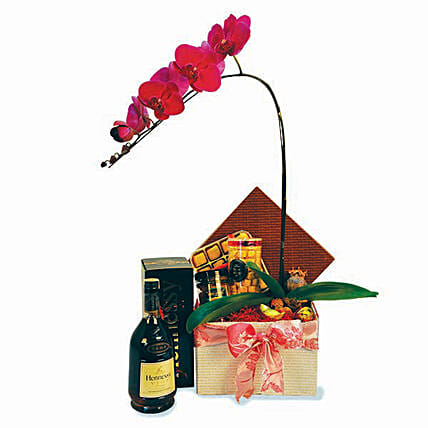 Prosperous Years Orchids Love Box