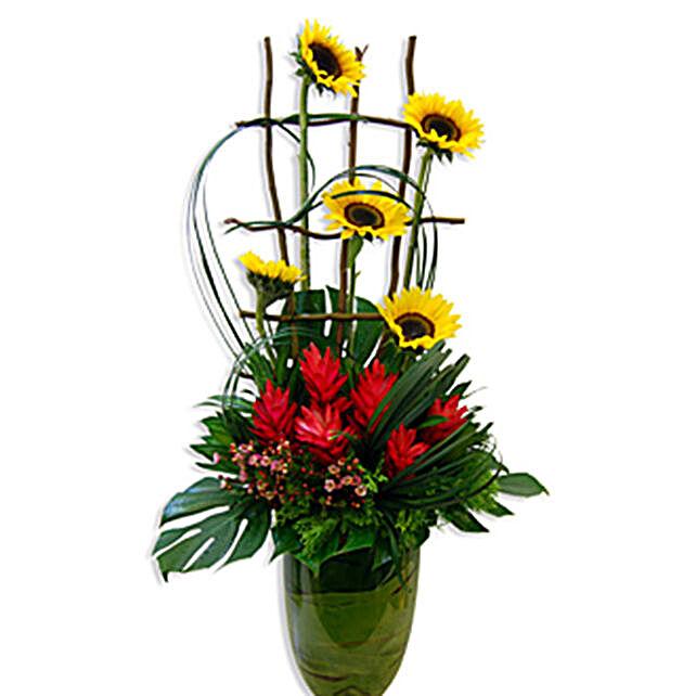 Return of Spring Floral Vase