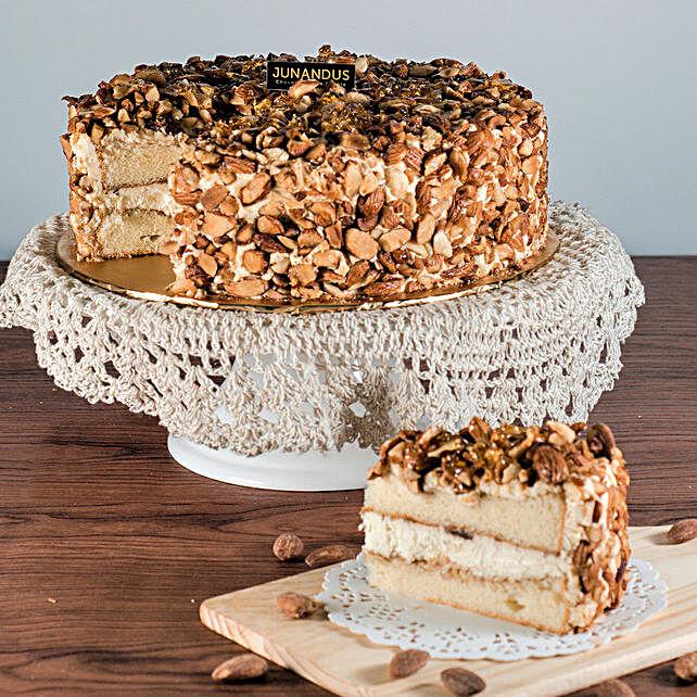 Tempting Almond Tiramisu Cake