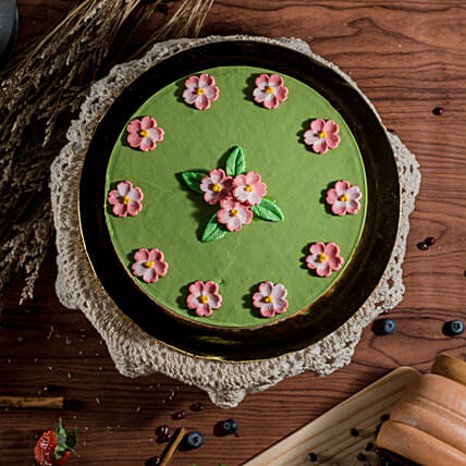 Tempting Green Tea Red Bean Cheesecake:Cheesecakes Delivery in Malaysia
