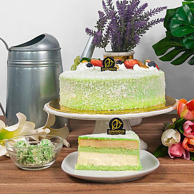 Tempting Ondeonde Cake