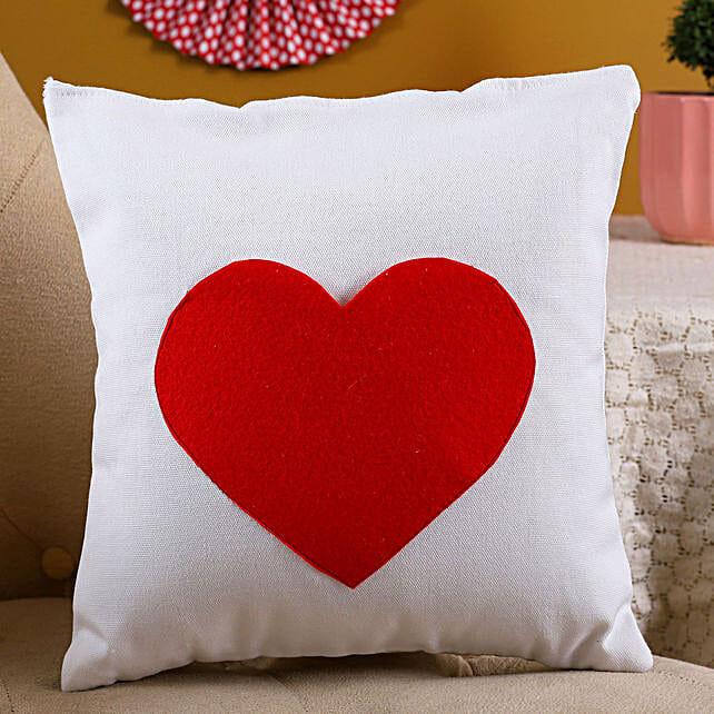 Single Heart Cushion