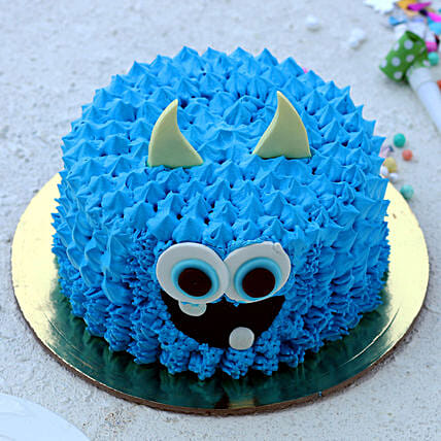Funky Monster Chocolate Cake:Order Birthday Cakes to Malaysia