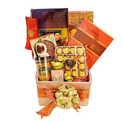 Chinese New Year Gift Hamper:All Gifts