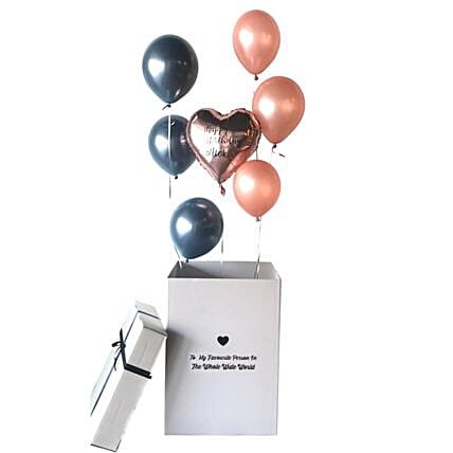Balloon Surprise Box Macy