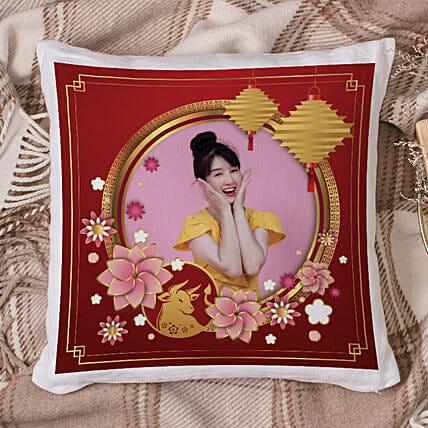 Personalised Ox Year Wishes Cushion:Send Cushion to Malaysia