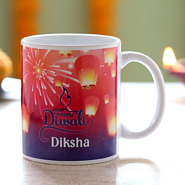 Personalised Name Diwali Mug