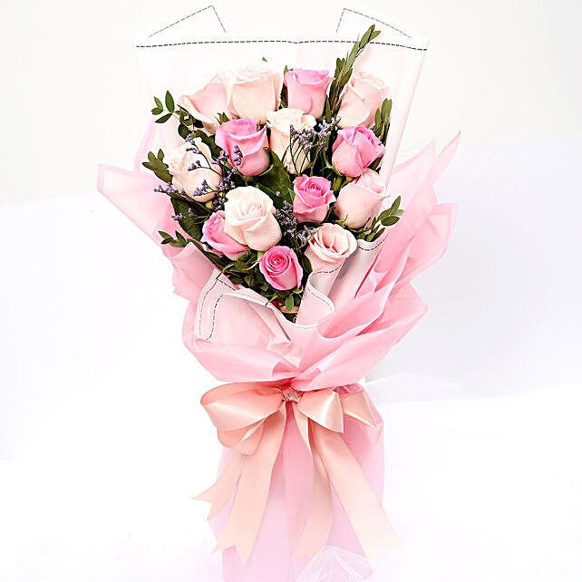 Vivacious Mixed Roses Bouquet