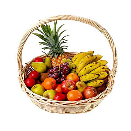 Basket Of Fresh Fruits:Gift Basket Delivery in Mauritius