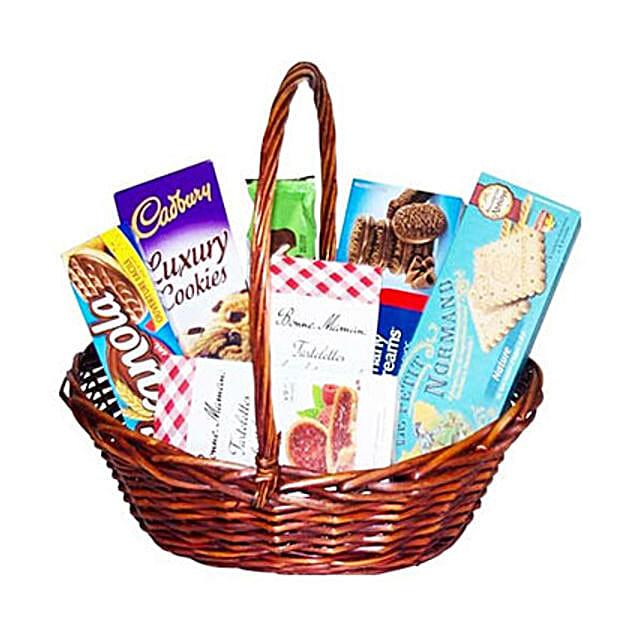 Crunchy Basket:Gift Baskets to Mauritius