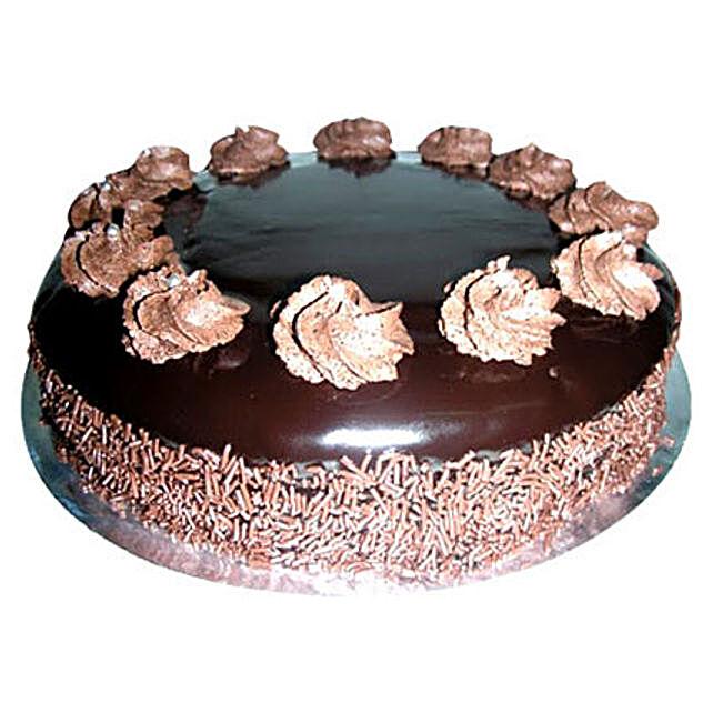 The Tempting Chocolate Rum Cake