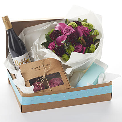 Bobby Boysenberry N Ecoya Gift Hamper:Send Flower Bouquet to New Zealand
