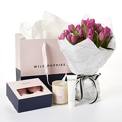 Fresh And Pretty Ecoya Gift Set:Send Flower Bouquet to New Zealand