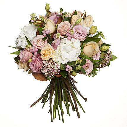 Pastel Flowers Bouquet