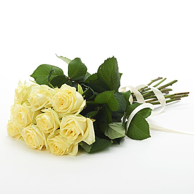 Ravishing Lemon Gelato Roses