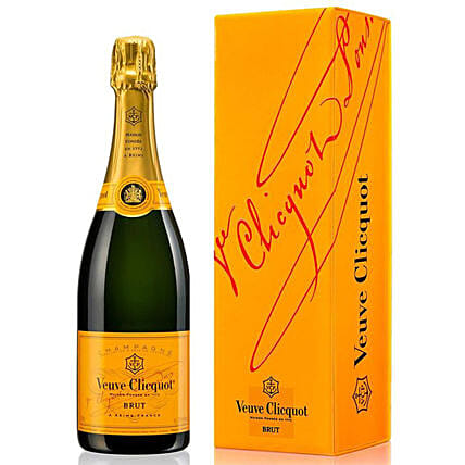 Veuve Clicquot Brut Champagne:New Arrival Gifts New Zealand