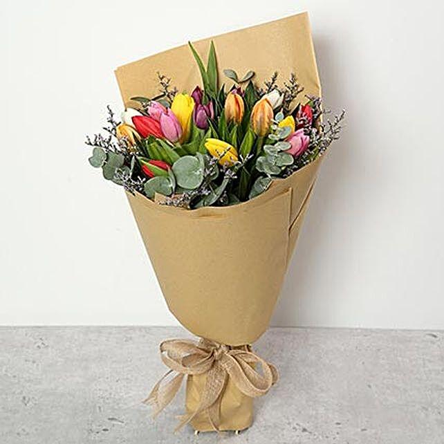 Beautiful Tulips Bouquet OM