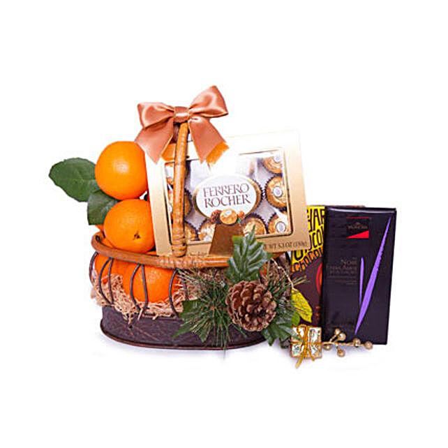 Basket Of Indulgence:Send Eid Gifts to Oman