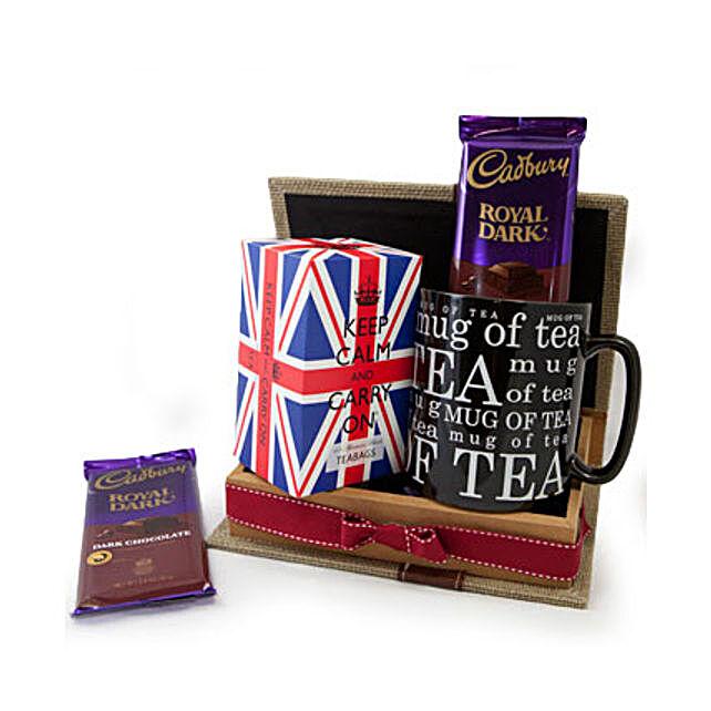 Keep Calm Tea Set:Send Get Well Soon Gifts to Oman
