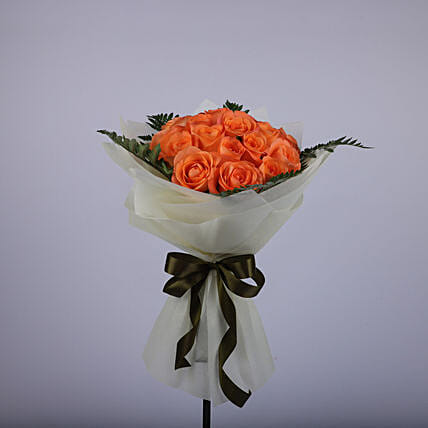 Ardent Bouquet Of Roses