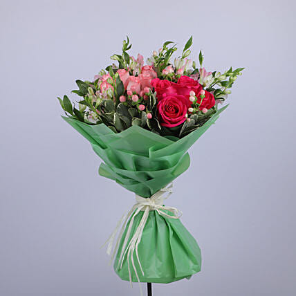 Gracious Flower Bouquet:Thank You Gift Delivery in Oman