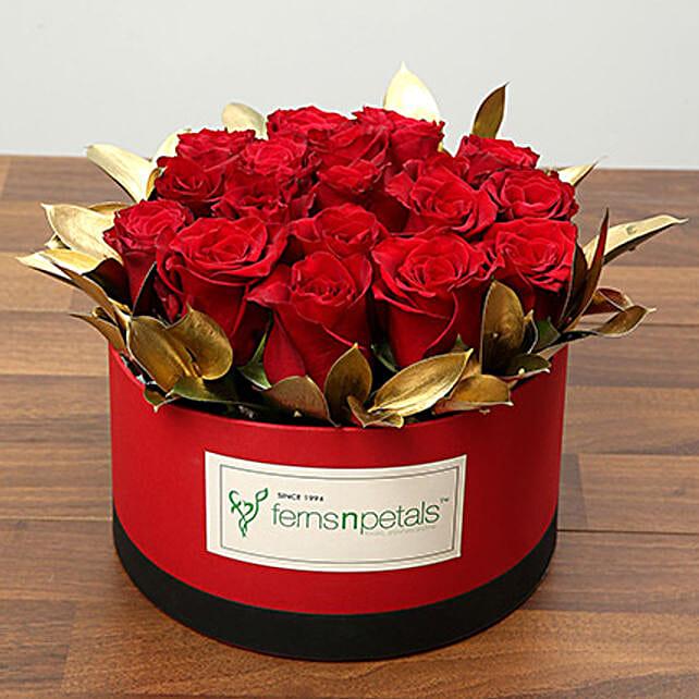 Box Of 20 Red Roses OM