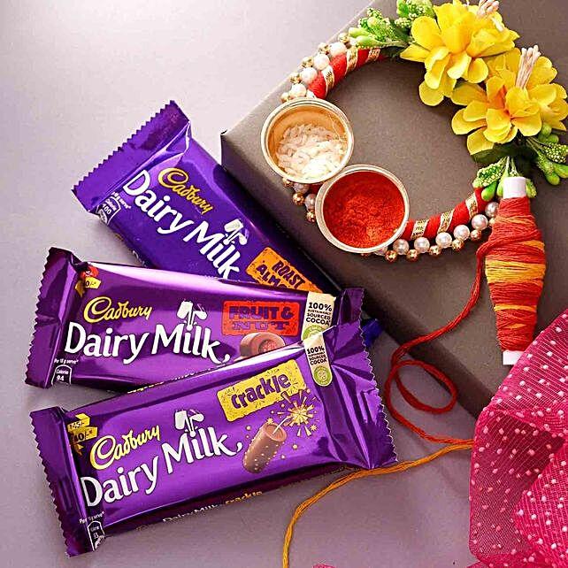Bhai Dooj Chocolates With Teeka:Send Gifts to Oman