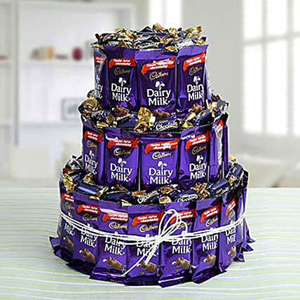 3 Layers Cadburry