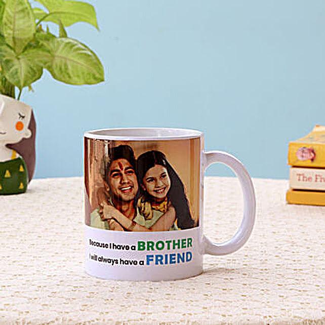 Best Brother White Mug
