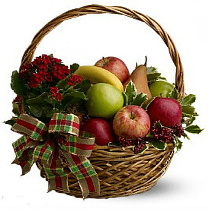 Fresh Seasonal Fruit Basket