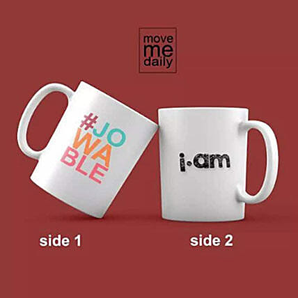 I Am Jowable Printed Mug