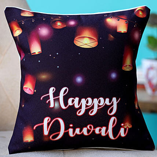 printed happy diwali cushion online