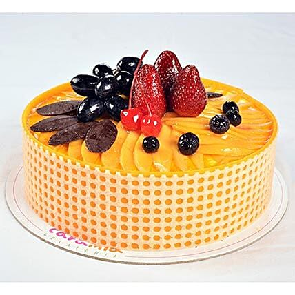 Tempting Mango Passion Cake:Order Birthday Cakes in Philippines