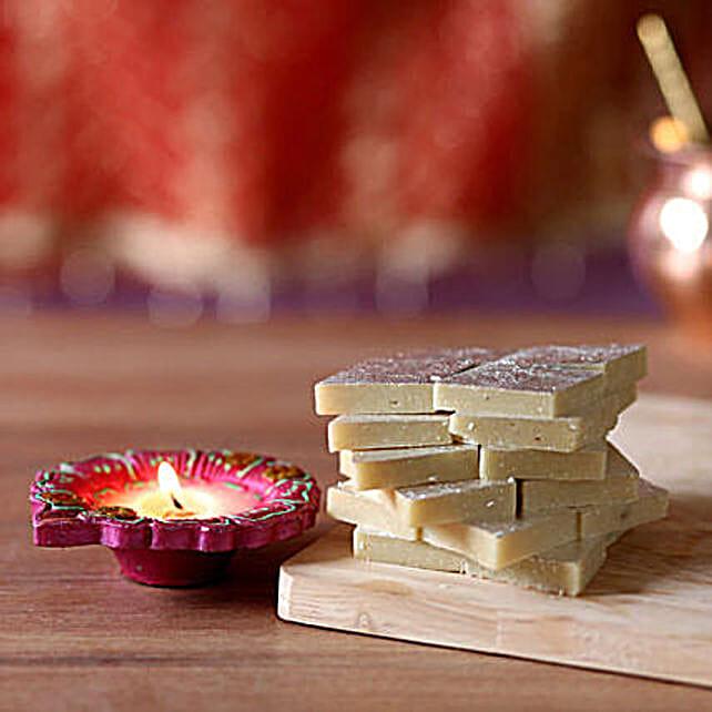 Diwali Celebrations With Kaju Katli