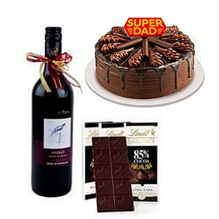 Wine And Cake Combo:Gifts for Her in Philippines
