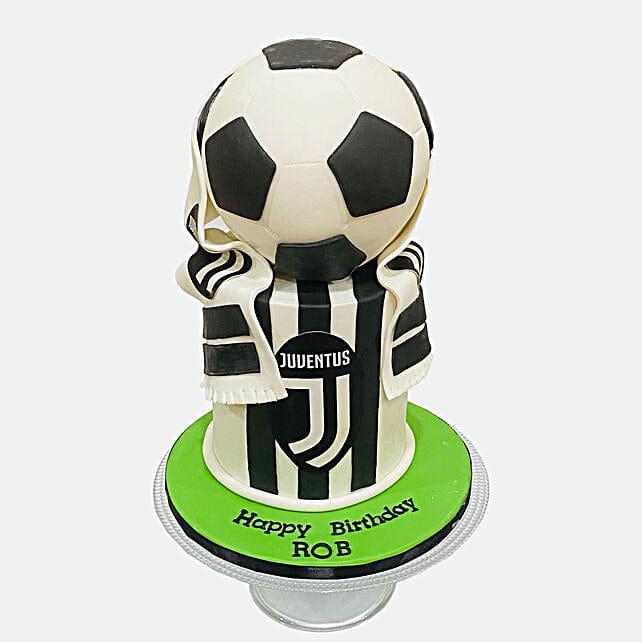 Football Cake:Send Birthday Cakes to Qatar