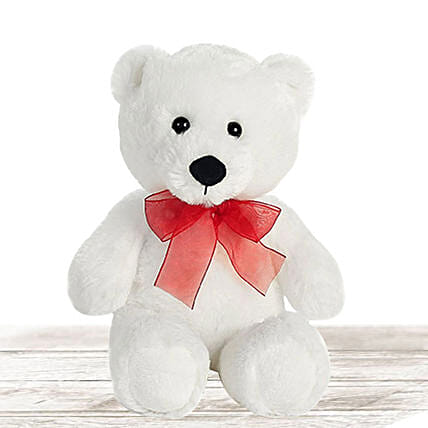 Lovable White Large Teddy Bear