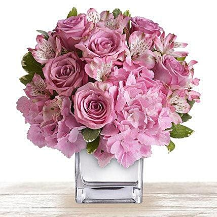 Pink Floral Expressions
