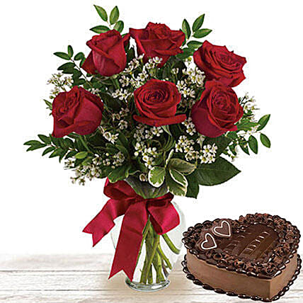 For Someone Special:Flower and Cake Delivery in Qatar
