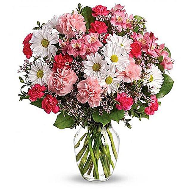 Happy Feeling Flower Bunch