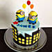 Minions with balloons 2kg Chocolate